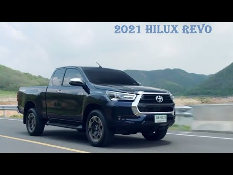 All New Toyota Hilux Revo 2021 Facelift Toyota Hilux Revo Launch Hilux Revo Interior Exterior Youtube
