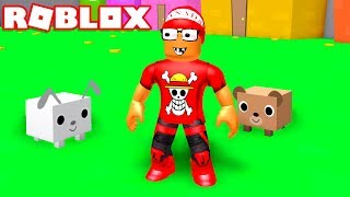 I ADOPTED PETS to HELP ME in ROBLOX → Pet Simulator 🎮