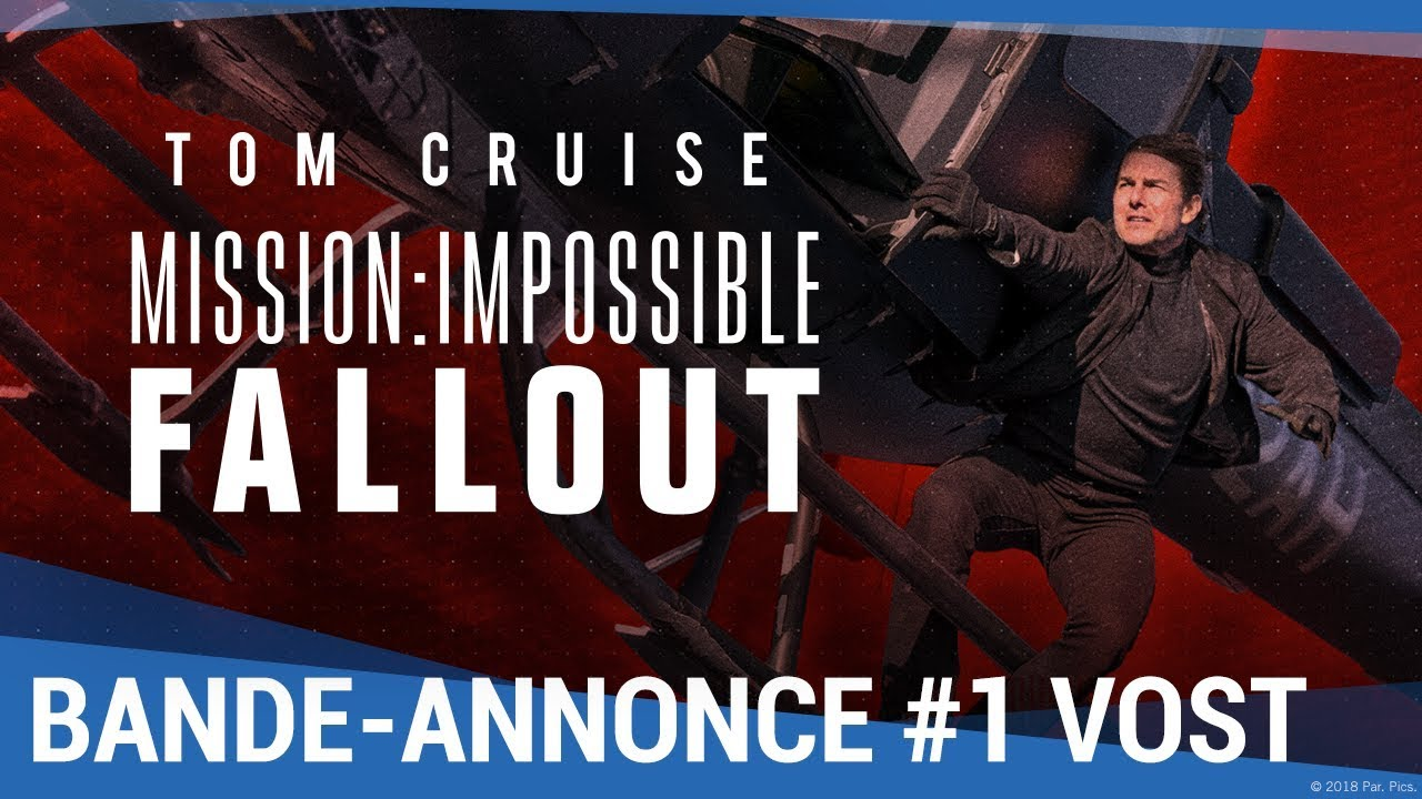 mission impossible fallout bande annonce 1 vf maintenant en vid o youtube. Black Bedroom Furniture Sets. Home Design Ideas