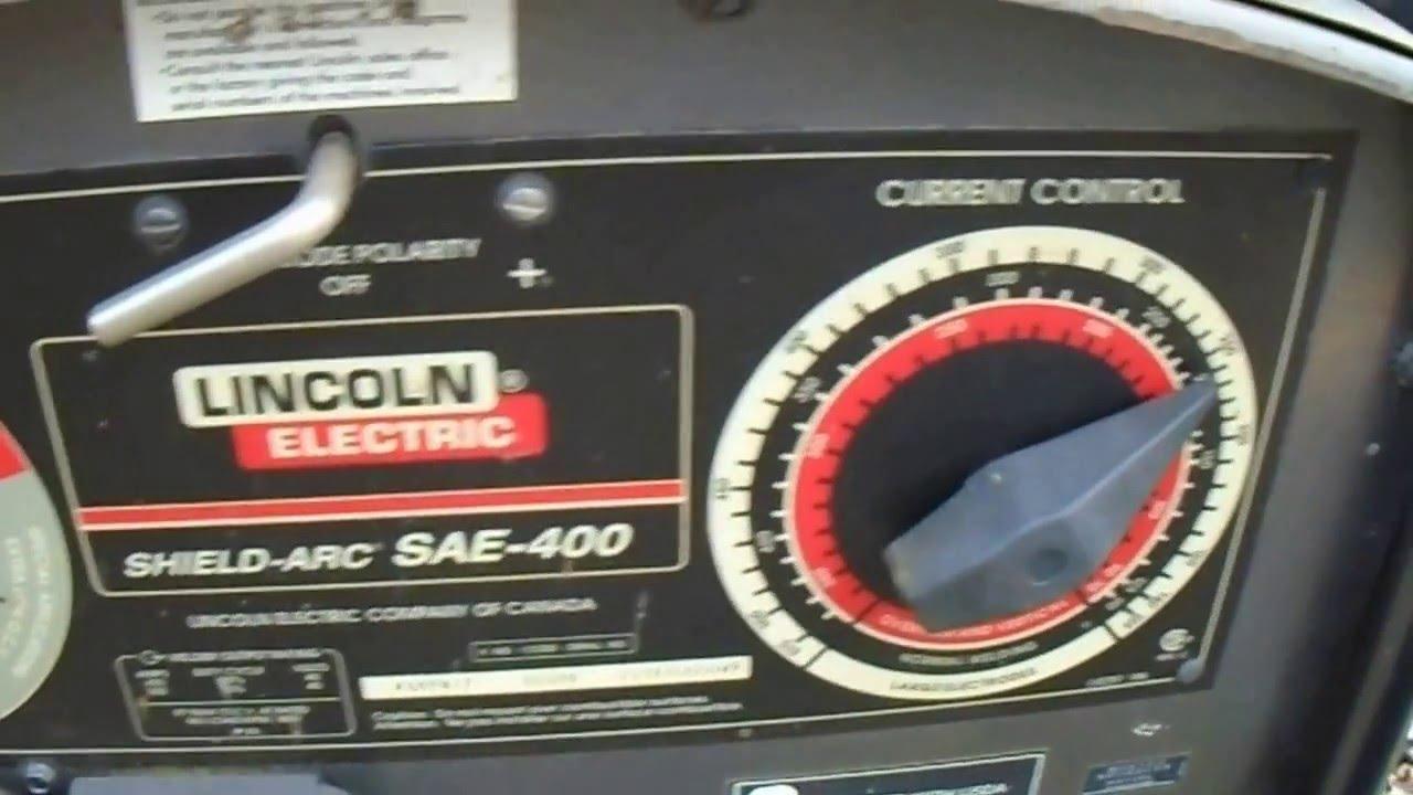 lincoln sae 400 amp welder