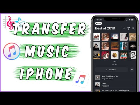 How to Add MUSIC From Computer to iPhone, iPad or iPod.