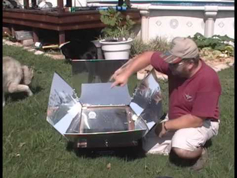 Cooking Pork Roast and Apples in a Solar Oven