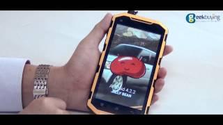 Hummer H6 Waterproof PTT Walkie Talkie IP68 Smartphone Hands On & Unboxing Review
