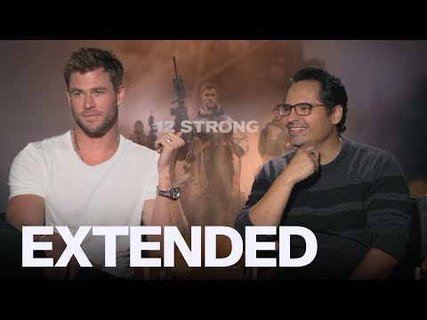 "Chris Hemsworth And Michael Pena Debate The ""Hottest Ryan"""