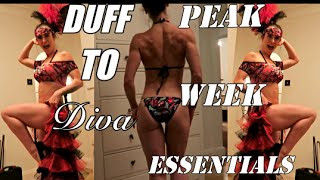 DUFF to Diva | Episode 30 | Peak Week essentials | Modelling my new Bikini
