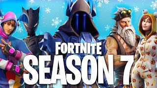 SEASON 7 SKINS Leaked in Fortnite Battle Royale! (Season 7 Battlepass)