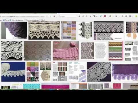 Как найти схему вязания по картинке Вязание с LusiTen