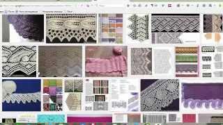 Как искать схему вязания по картинке