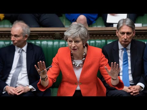 Theresa May's latest Brexit deal rejected