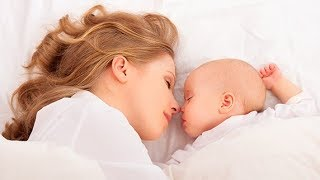 Mother and Baby Gentle Sleep Music with Relaxing Ocean Wave Sound, Fall Asleep Fast 🕙10 Hours
