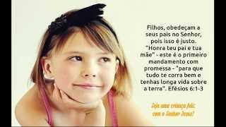 Mensagem Evangélica - Feliz Dia das Crianças - Whatsapp