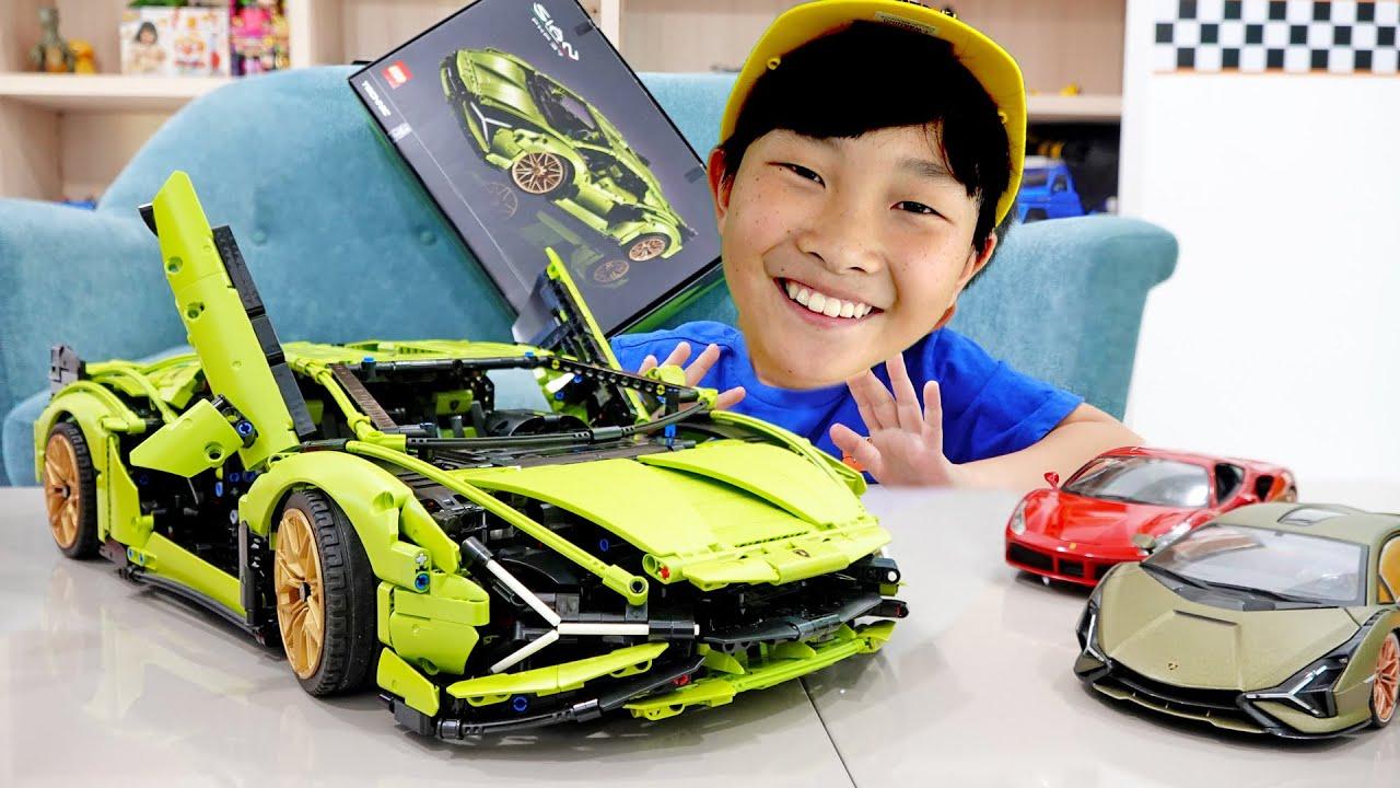 예준이의 자동차 장난감 레고 테크닉 조립놀이 트럭놀이 Car Toy Assembly with Lego Technic Truck Toys