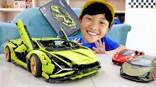 예준이의 자동차 장난감 레고 테크닉 조립놀이 트럭놀이 …