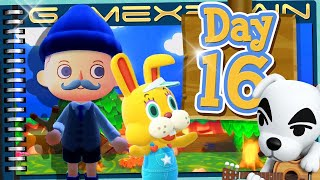 Animal Crossing: New Horizons - Day 16:  KK Slider Time! (again!) (Journal)