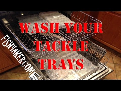 Clean Your Fishing Tackle Trays in the Dishwasher: Episode 259