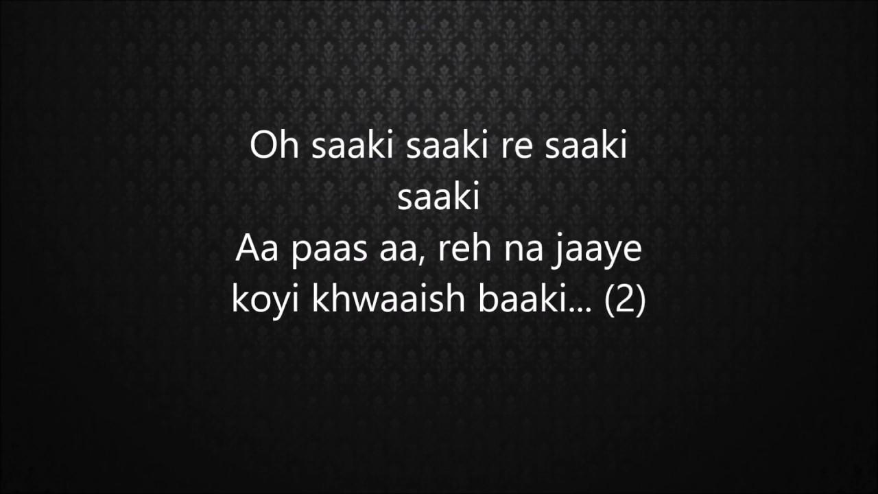 Saaki (Lyrics)- Musafir