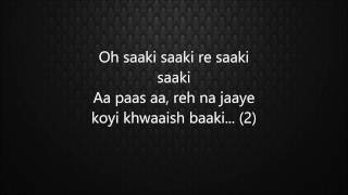 Saaki (Lyrics)- Musafir