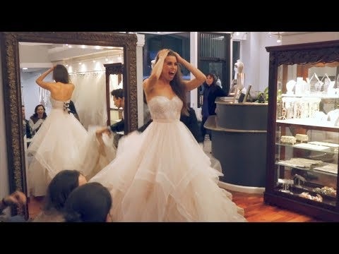 PICKING OUT MY WEDDING DRESS!!! | Here's To Us - Episode 5