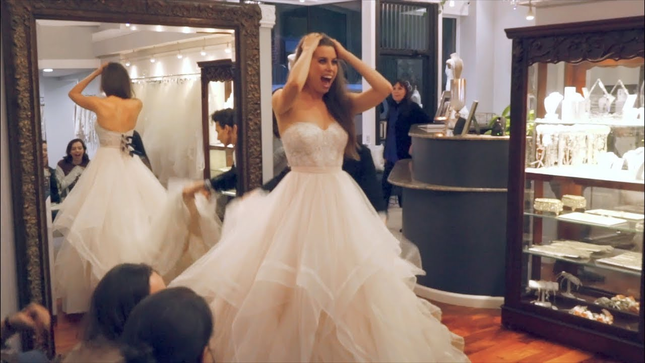 Picking Out My Wedding Dress Here S To Us Episode 5 Youtube