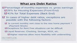 How do you Qualify for a USDA Loan with Higher Debt Ratios?