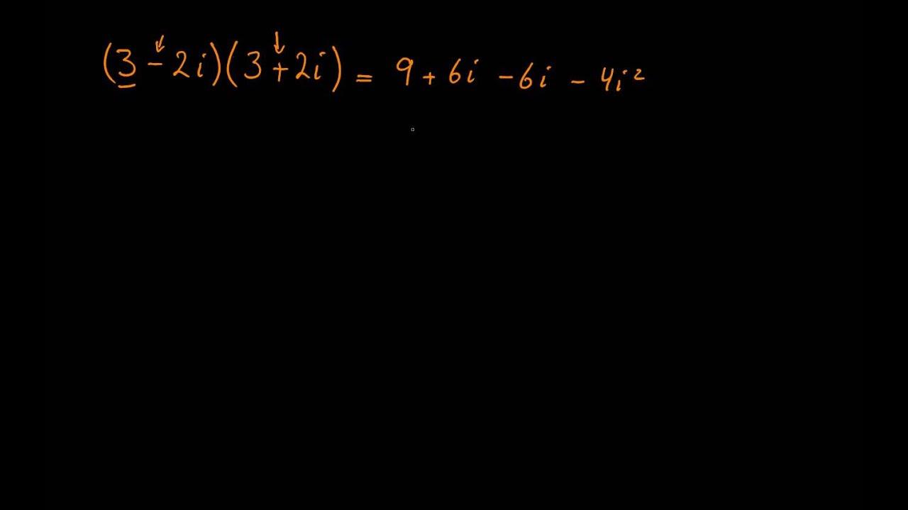Division med komplekse tal