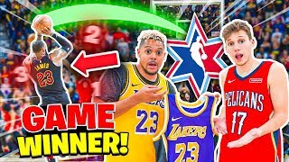 Download Make This NBA All Stars GAME WINNER , I'll Buy You Their Jersey !! Mp3 and Videos