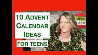 Ten Advent Calendar Ideas for Teenagers
