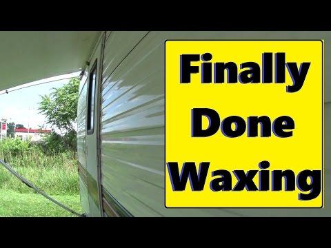 RV Wax job Completed