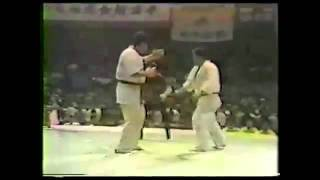 Semifinal the 9th All Japan Open Karate Tournament (5-6.11.1977) Ta...