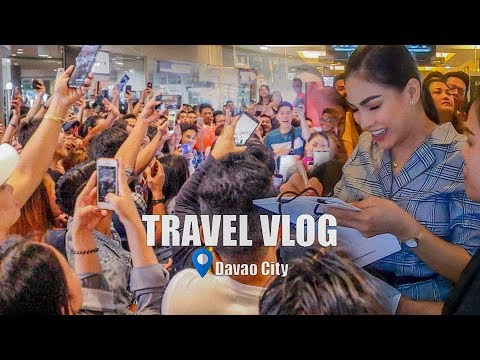 DAVAO CITY Philippines Travel Vlog   MEET And GREET!