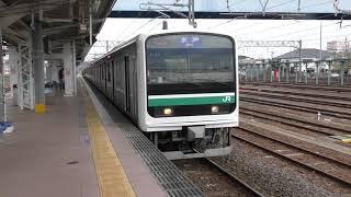 668M E501系 K753編成 高萩駅発車