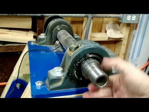 HomeMade Bowl Lathe Part 2 - spindle and headstock information