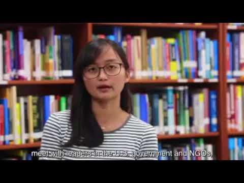 The Young Southeast Asian Leaders Initiative Academic Fellowship, Socheata Eng