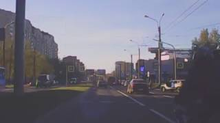 Коломяжский проспект. 23 мая. Мото и пешеход. No comments