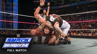 FULL MATCH - Randy Orton & Roman Reigns vs. Braun Strowman & Bray Wyatt: SmackDown, October 8, 2015