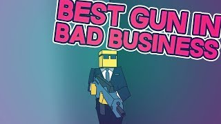 Using The BEST GUN In Bad Business (ROBLOX)