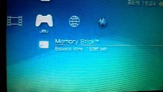 probleme dans le flashage de ma PSP