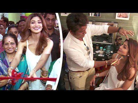 Shilpa Shetty Inaugurates Her Make Up Artist Ajay Shelar's Makeup Academy