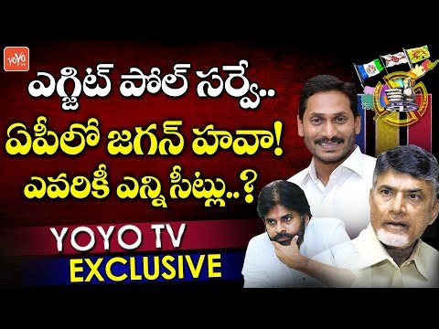 AP Exit Polls 2019 Survey Report | Times Now | ADP | YS Jagan | Chandrabau | Pawan Kalyan | YOYO TV