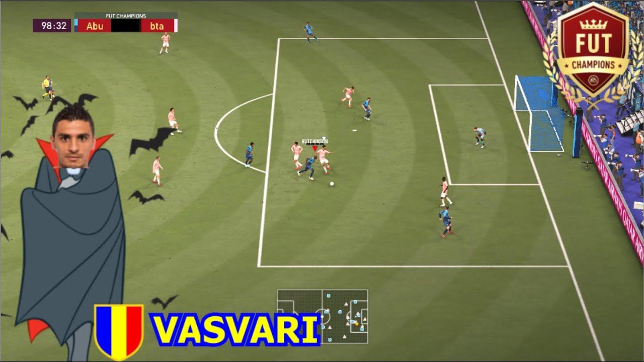 GABRIEL VASVARI, EL PRIMO DE DRÁCULA    Abuelonchos FC - FIFA 21 FUT Champions