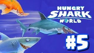 Hungry Shark World Ep 5 - Mako Shark FASTEST SHARK IN THE GAME! (Hidden Superman House Location!)