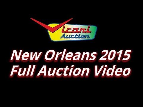 Vicari Auctions: New Orleans, LA 2015 Full Auction Video HD