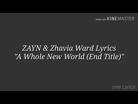 """zayn-&-zhavia-ward-lyrics-""""a-whole-new-world-(end-title)"""""""