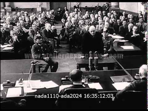 Procès nazi des membres du complot contre Hitler