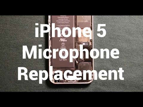 IPhone 5 Microphone Replacement How To Change