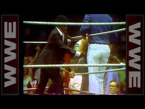 Gorilla Monsoon goes toe-to-toe with Muhammad Ali: Championship Wrestling, June 1, 1976