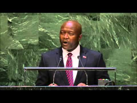 Liberia's Address @ the 69th UNGA by Hon. Ngafuan on 09/29/2014