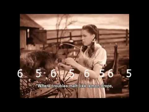 Harmonica harmonica tabs over the rainbow : over the rainbow w lyrics and harmonica tabs in C - YouTube