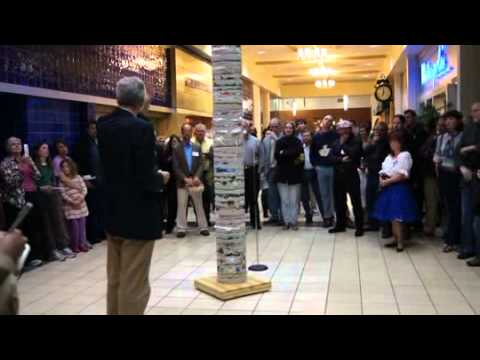 3rd Annual Scrapel Hill Exhibit - Nisbet discusses Exhumed by Michael Dodson