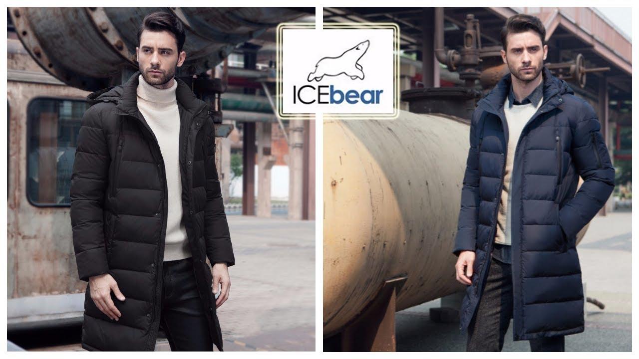 Верхняя одежда с Aliexpress - ICEbear Мужская толстая Зимняя куртка